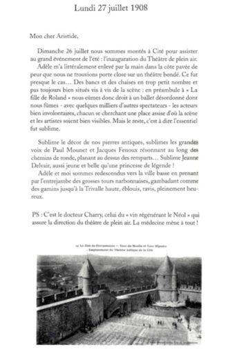 Je t'écris de Carcassonne 2