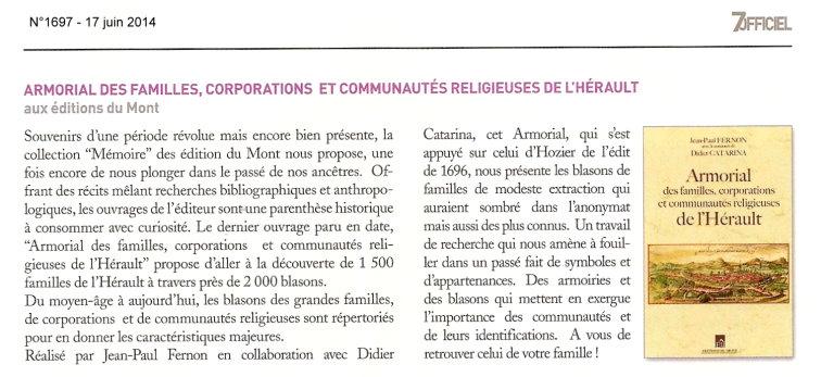 La Gazette 7Officiel 17-06-2014