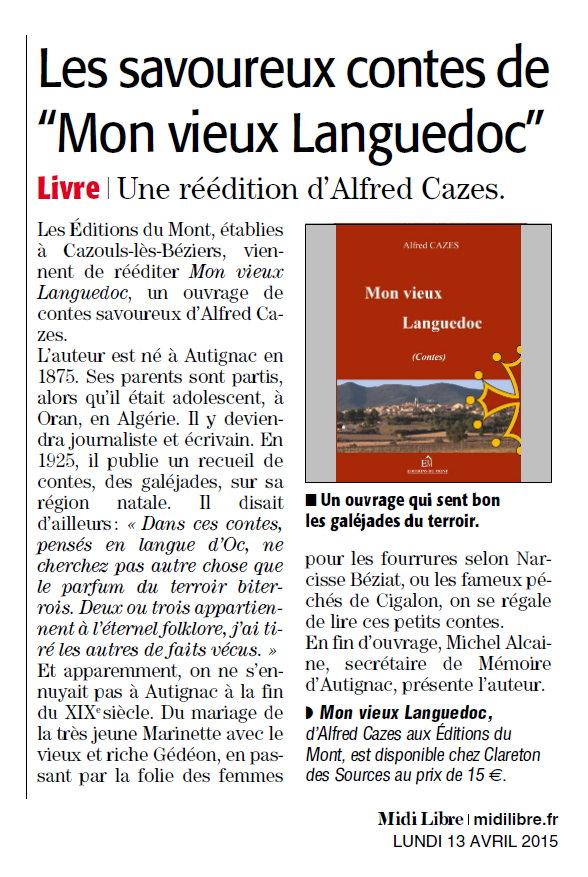 Mon Vieux Languedoc Midi Libre