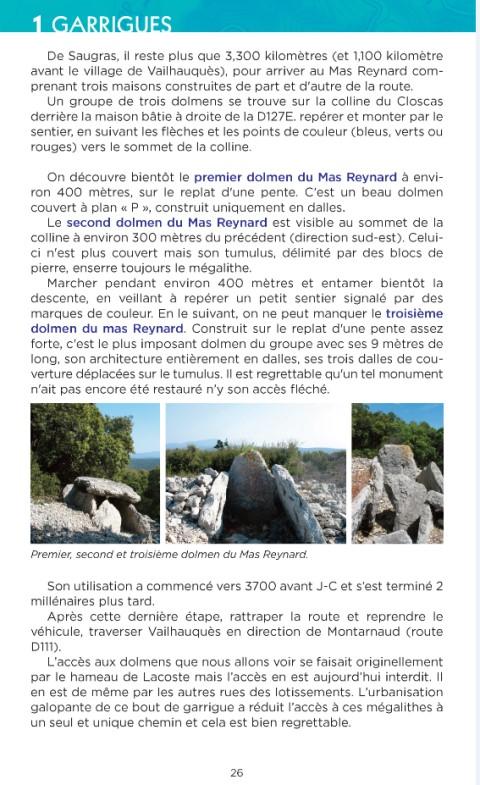Dolmens Hérault 1