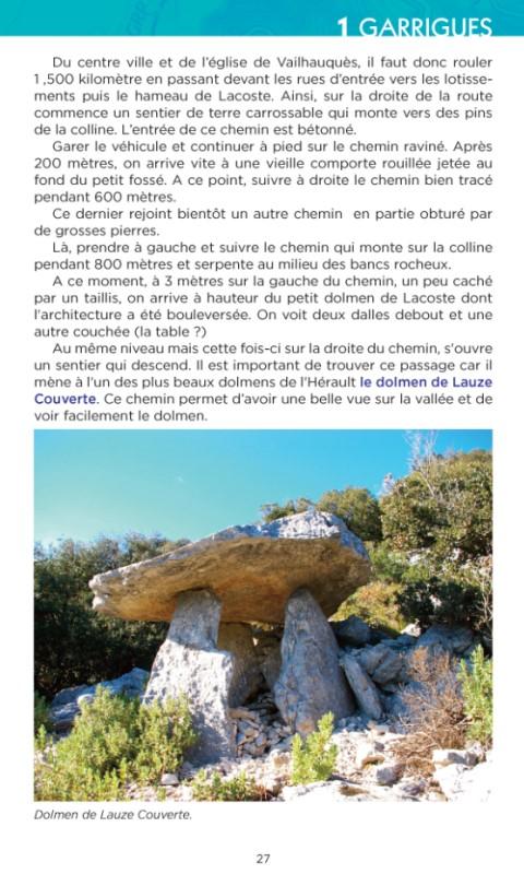 Dolmens Hérault 2