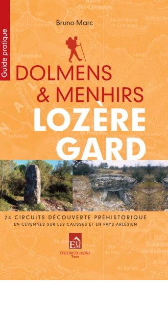 Dolmens et menhirs Lozère-Gard